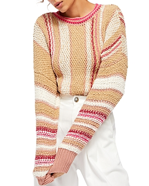 Free People Show Me Love Cropped Sweater