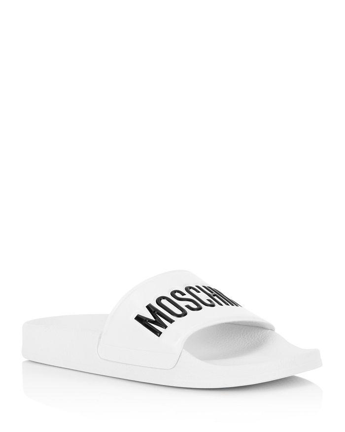 Moschino - Women's Logo Pool Slides