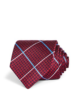 The Men's Store at Bloomingdale's - Tuscan Check Silk Classic Tie - 100% Exclusive