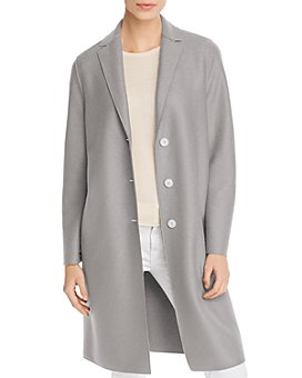 HARRIS WHARF - Virgin Wool Coat
