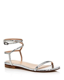 Stuart Weitzman - Women's Merinda Ankle-Wrap Sandals