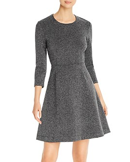 Leota - Carly Fit-and-Flare Knit Dress