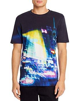 HUGO - Ducy City-Lights Graphic Tee