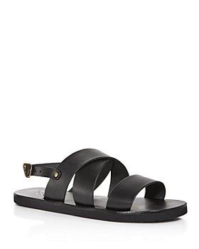 Ancient Greek Sandals - Men's Miltos Wide-Strap Sandals