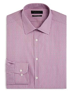 The Men's Store at Bloomingdale's Mini Check Slim Fit Dress Shirt