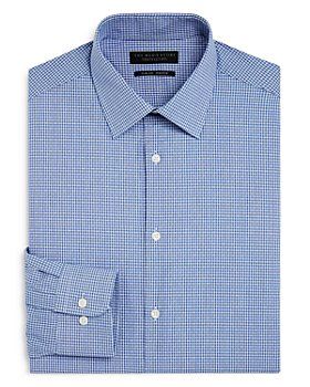 The Men's Store at Bloomingdale's - Mini Check Slim Fit Dress Shirt