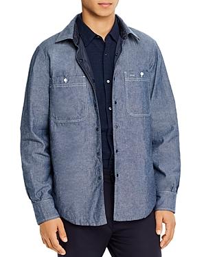 Aspesi Reversible Regular Fit Shirt Jacket