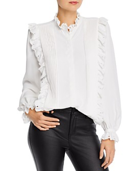 Joie - Cheyanne Ruffled Button-Down Top