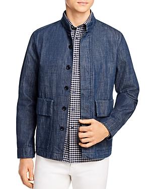 Barbour White Label White Label Moray Regular Fit Shirt Jacket