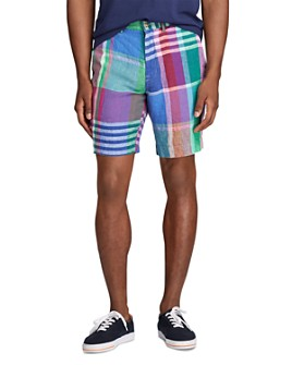 Polo Ralph Lauren - Classic Fit Madras Linen Shorts