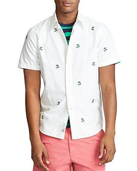 Polo Ralph Lauren - Classic Fit Palm Tree Short-Sleeve Shirt