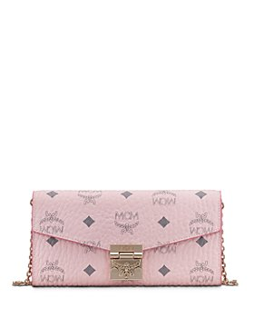 MCM - Patricia Visetos Large Chain Wallet