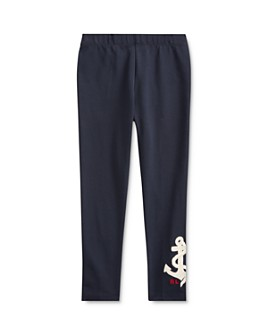 Ralph Lauren - Girls' Anchor Leggings - Little Kid
