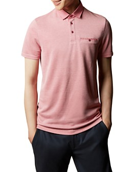 Ted Baker - Jetoff Woven-Collar Polo Shirt