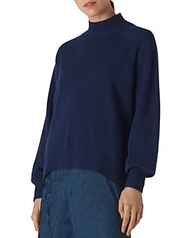 Whistles - Funnel Neck Cashmere Sweater