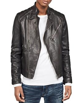 G-STAR RAW - Suzuki Slim Fit Leather Moto Jacket