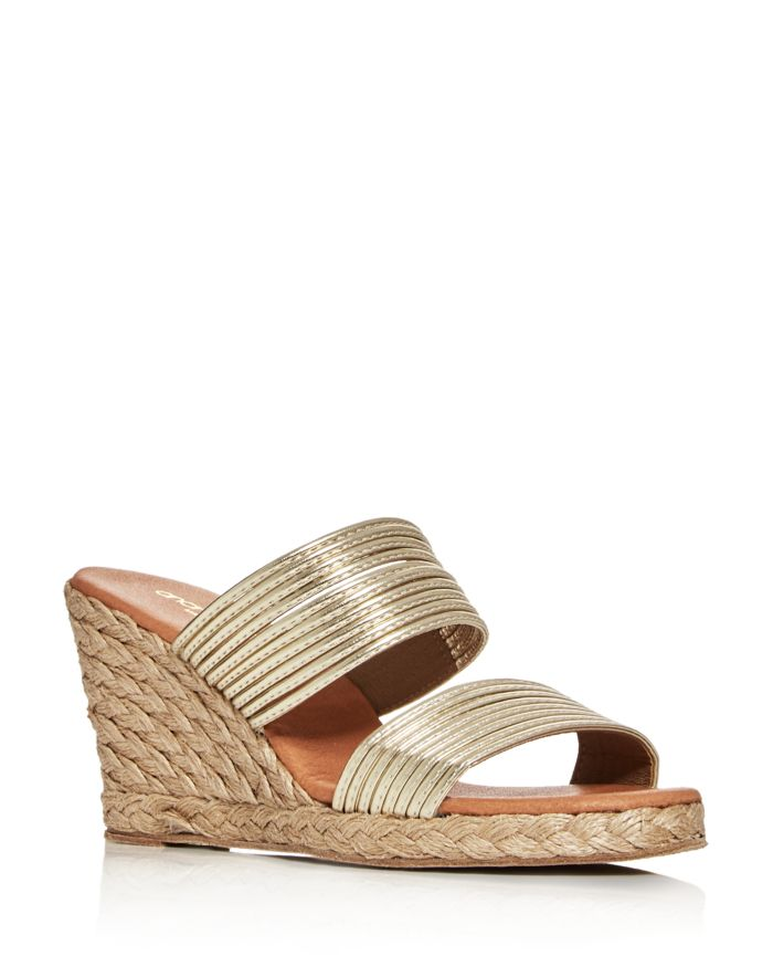 Andre Assous Women's Amy Espadrille Wedge Sandals   | Bloomingdale's