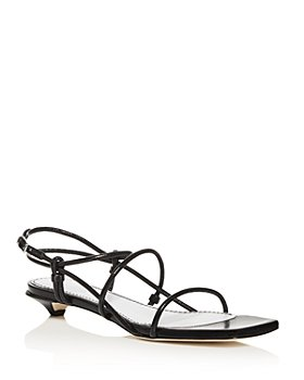Proenza Schouler - Women's Kitten-Heel Strappy Sandals