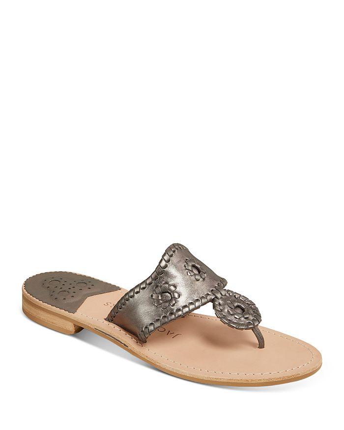 Jack Rogers - Women's Jacks Metallic Thong Sandals