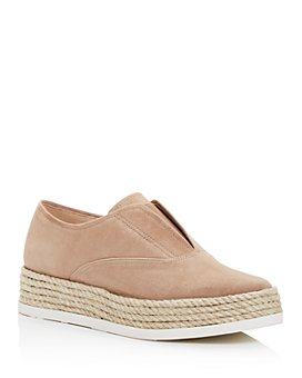 Via Spiga - Women's Berta Platform Slip-On Sneakers