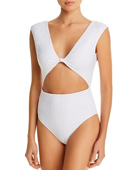 BETH RICHARDS - Twist One Piece Swimsuit