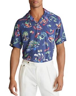 Polo Ralph Lauren - Tropical Custom Fit Short-Sleeve Shirt