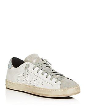 P448 - Women's John Embellished Low-Top Sneakers
