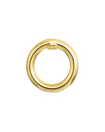 TOUS - 18K Yellow Gold-Plated Sterling Silver Small Hold Ring Pendant