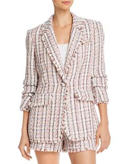 Cinq à Sept - Khloe Frayed Tweed Blazer