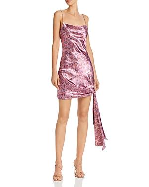 Cinq a Sept Ryder Paisley Print Mini Dress-Women