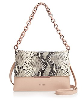 Ted Baker - Abiagal Snake-Print Shoulder Bag