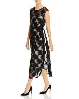 BOSS - Dasana Layered Midi Dress