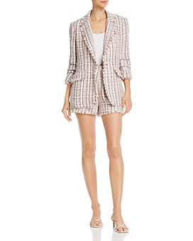 Cinq à Sept - Tweed Blazer & Shorts