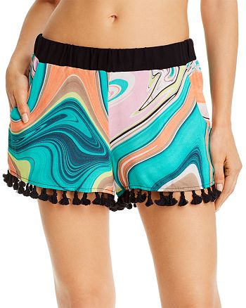 Trina Turk - Nazare Swim Cover-Up Shorts