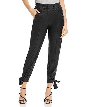 Rebecca Taylor - Vegan Leather Pants