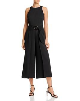 Joie - Belted Crop Jumpsuit
