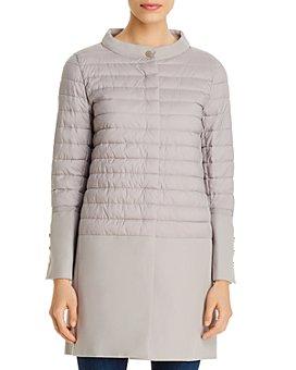 Herno - Texture-Blocked Coat