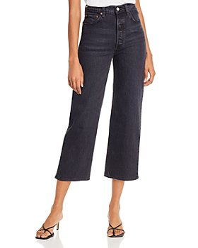 Levi's - Rib Cage Ankle Straight Jeans in Feelin' Cagey