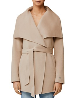 Soia & Kyo - Double Face Wool-Blend Draped Collar Coat