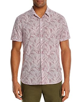 John Varvatos Star USA - Jasper Regular Fit Swirl Shirt - 100% Exclusive