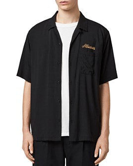 ALLSAINTS - Sibu Relaxed Fit Button-Down Shirt
