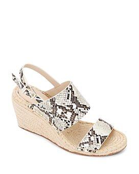 Kenneth Cole - Women's Olivia Wedge Heel Espadrille Sandals