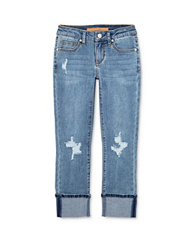 Joe's Jeans - Girls' The Jane Mid-Rise Cropped Skinny Jeans - Little Kid