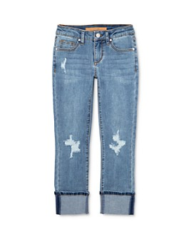 Joe's Jeans - Girls' The Jane Mid-Rise Cropped Skinny Jeans - Big Kid