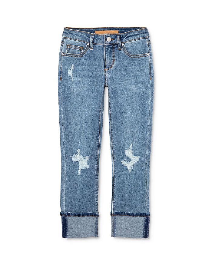 Joe's Jeans - Girls' The Jane Mid-Rise Cropped Skinny Jeans - Little Kid