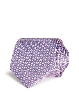 Eton - Mini Flower Circle Silk Classic Tie