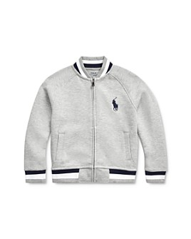 Ralph Lauren - Boys' Double-Knit Baseball Jacket - Little Kid