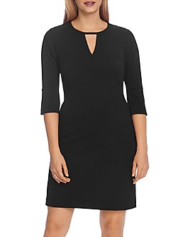 VINCE CAMUTO - Flare Sleeve Crepe Dress - 100% Exclusive