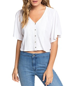 Roxy - Hanging Moon Cropped Top