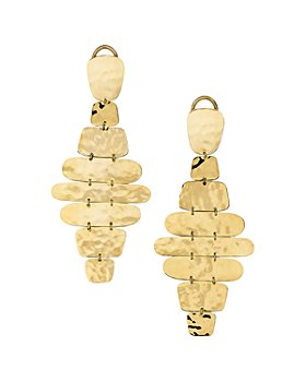 IPPOLITA - 18K Yellow Gold Classico Cascade Clip-On Earrings